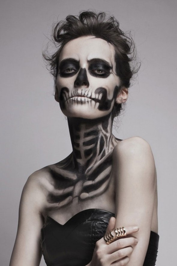 Beautiful Skeleton Makeup